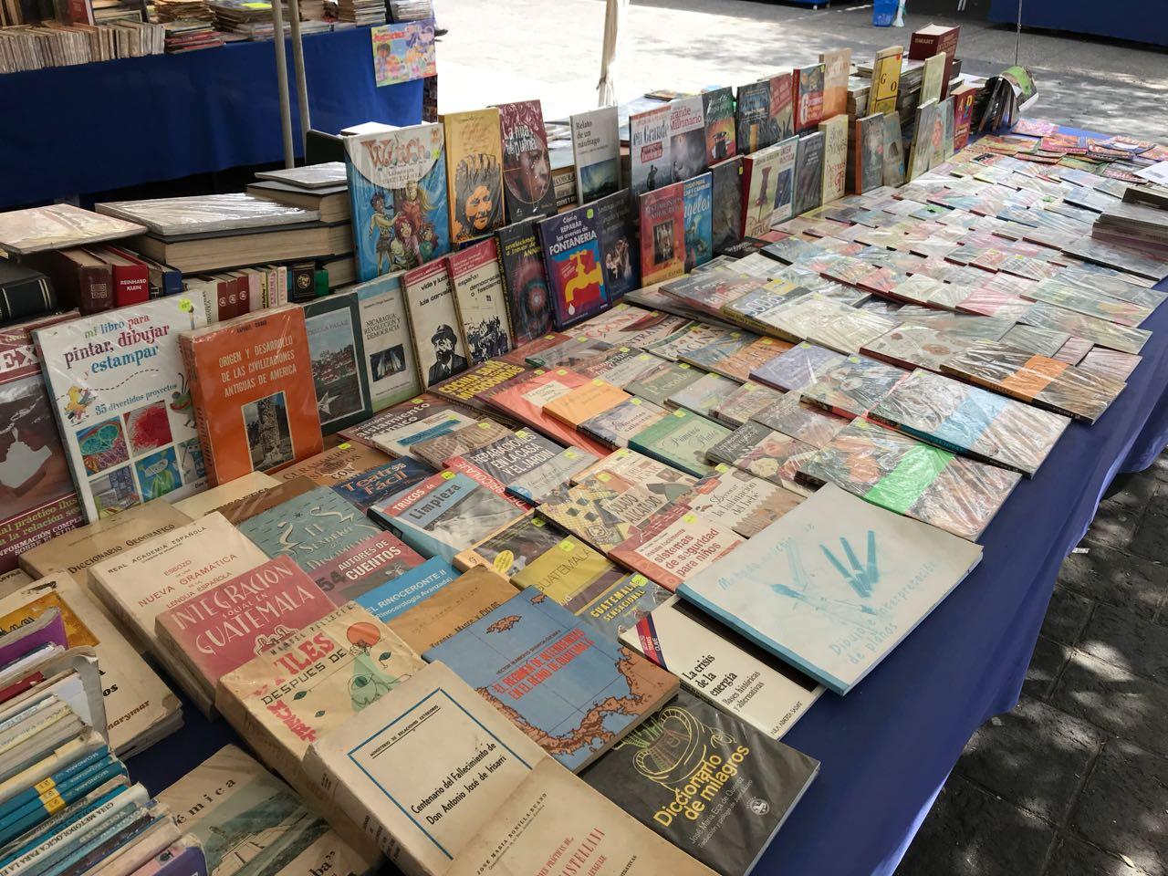 Libro de Miguel Ángel Asturias el más buscado en la Feria de Libro