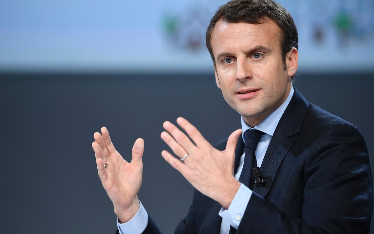 """Macron busca revertir imagen de """"presidente de los ricos"""""""