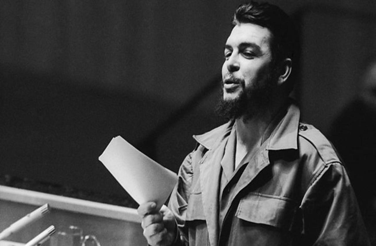 Morales exalta la figura del Che Guevara a 50 años de su muerte