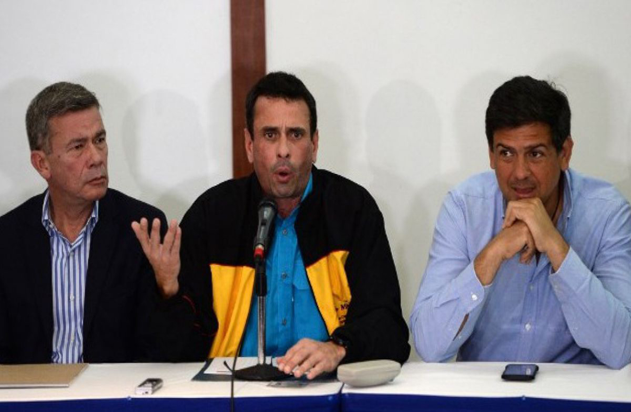 Oposición venezolana descarta juramentar a sus gobernadores ante Constituyente