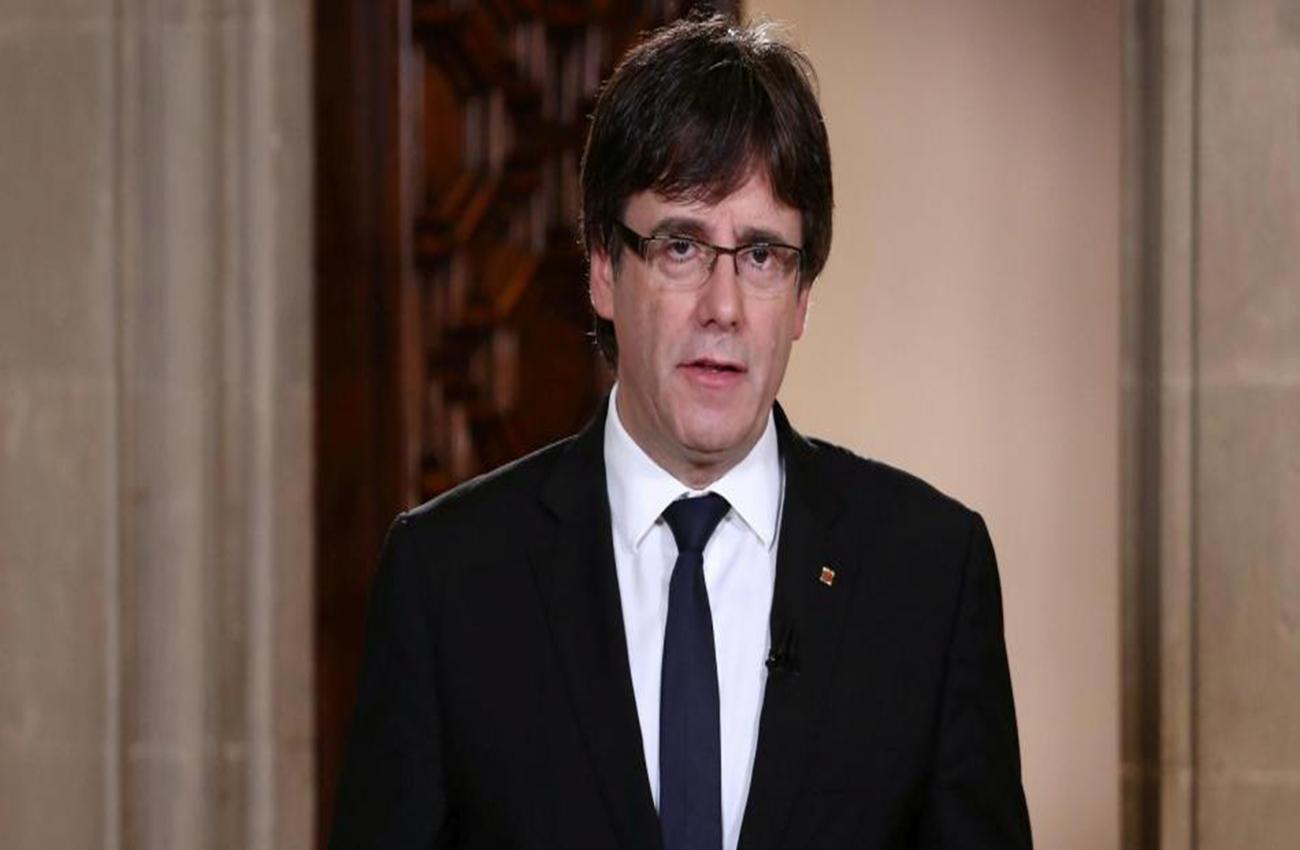 Presidente catalán propone a Rajoy dos meses para negociar