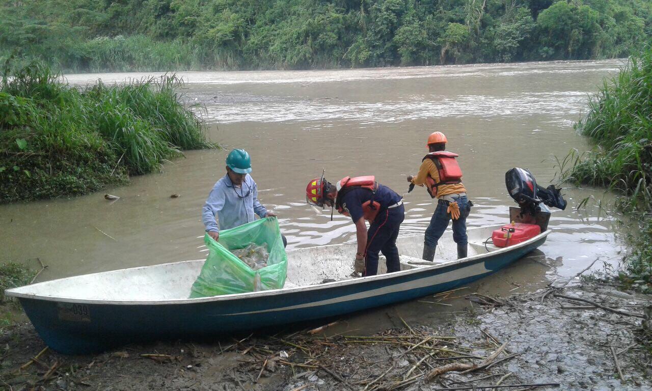 Búsqueda de desaparecidos por deslave en Tamahú