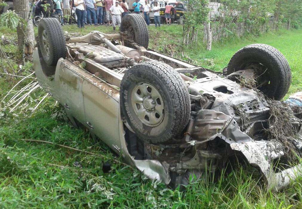 Muere en accidente de tránsito el alcalde de Estanzuela, Zacapa