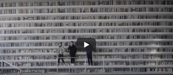 Biblioteca futurista en China