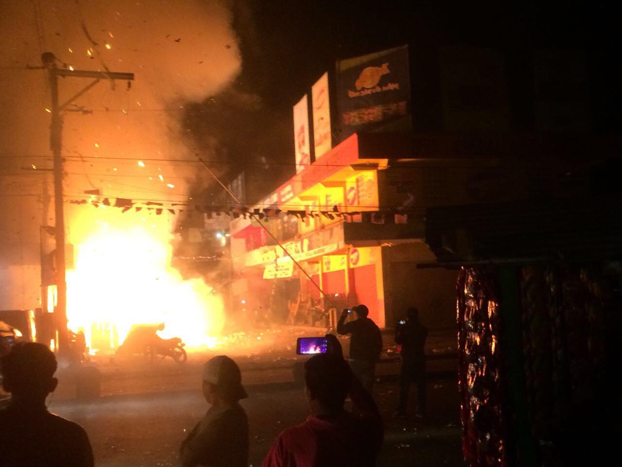 Bombero fallecido en incendio en mercado La Terminal Quetzaltenango