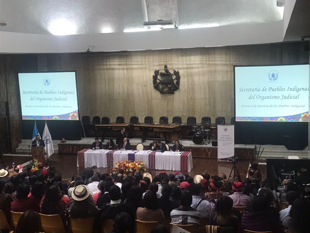 Secretaría de Pueblos Indígenas CSJ