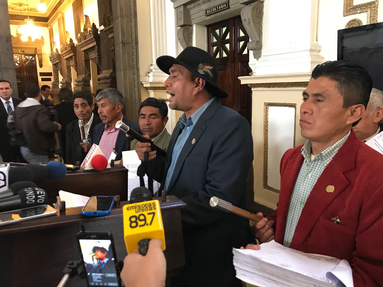 Totonicapán, renuncia diputados