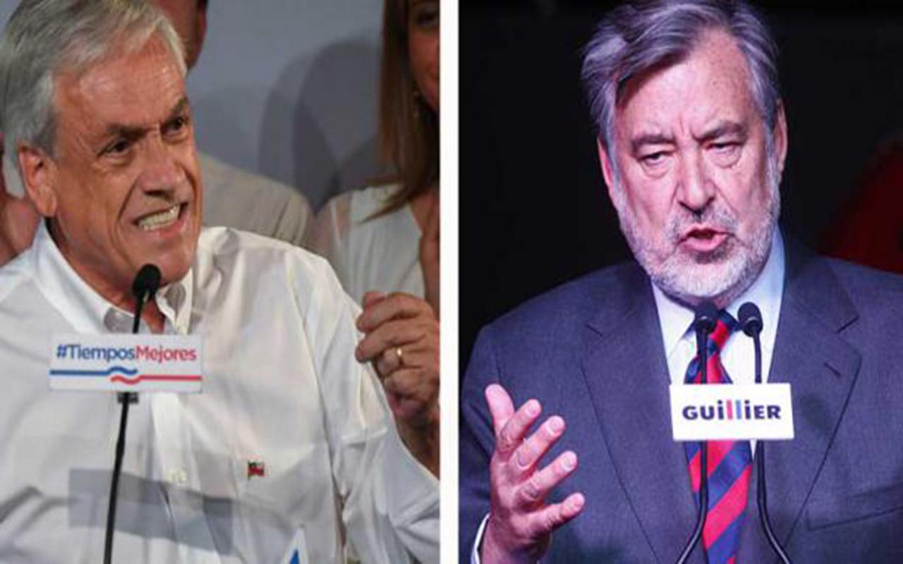 Balotaje de final abierto en Chile entre derechista Piñera y oficialista Guillier