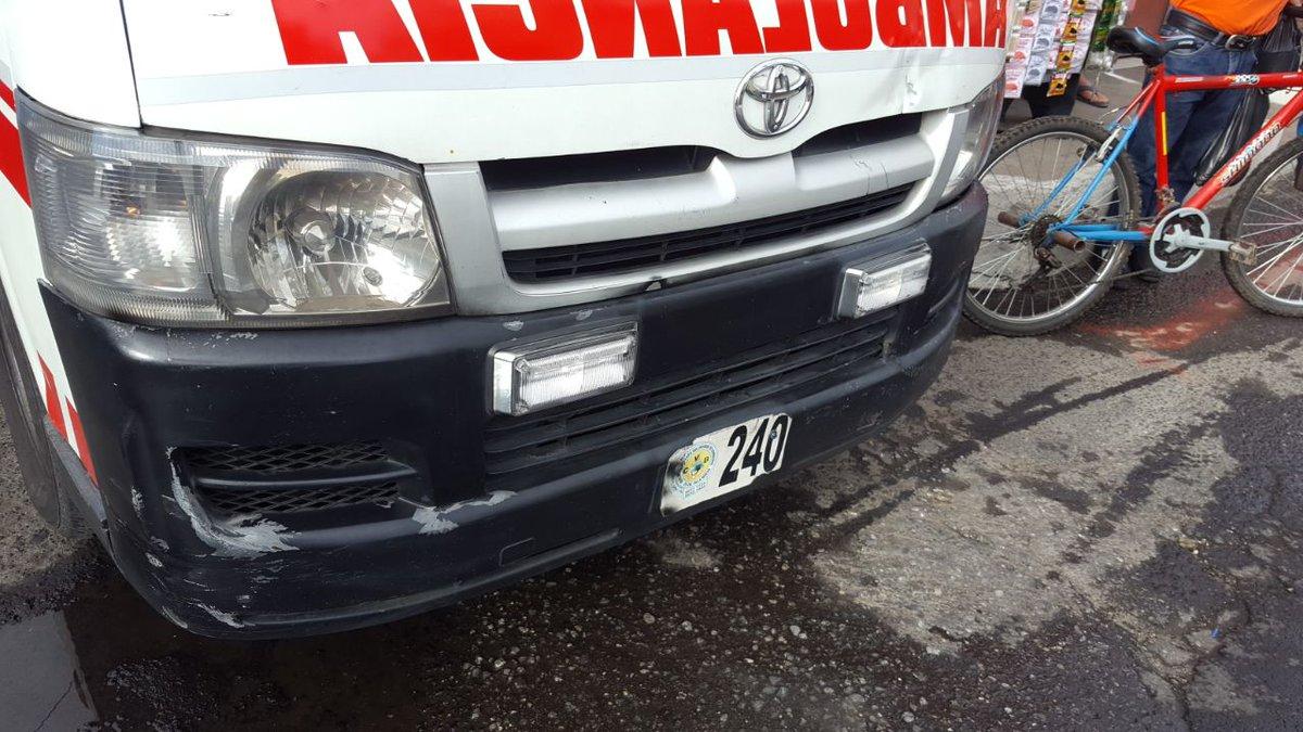 Zacapa guardia de seguridad atropellado Estanzuela 14 noviembre 2018