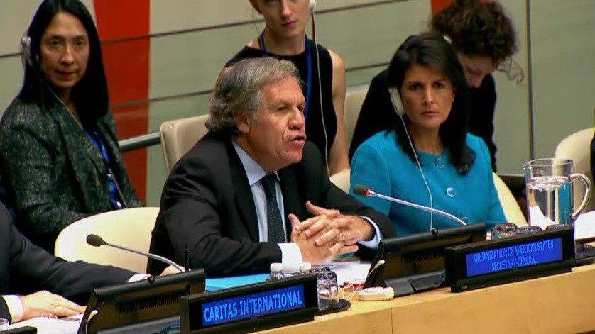 Luis Almagro, Secretario OEA