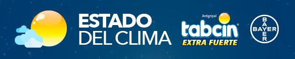 El Clima es patrocinado por TABCIN