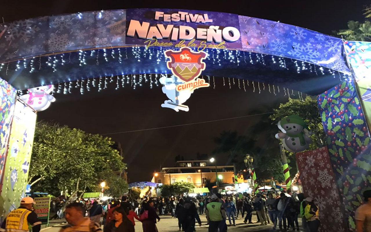 Festival navideño contará con tres anillos de seguridad según vocero