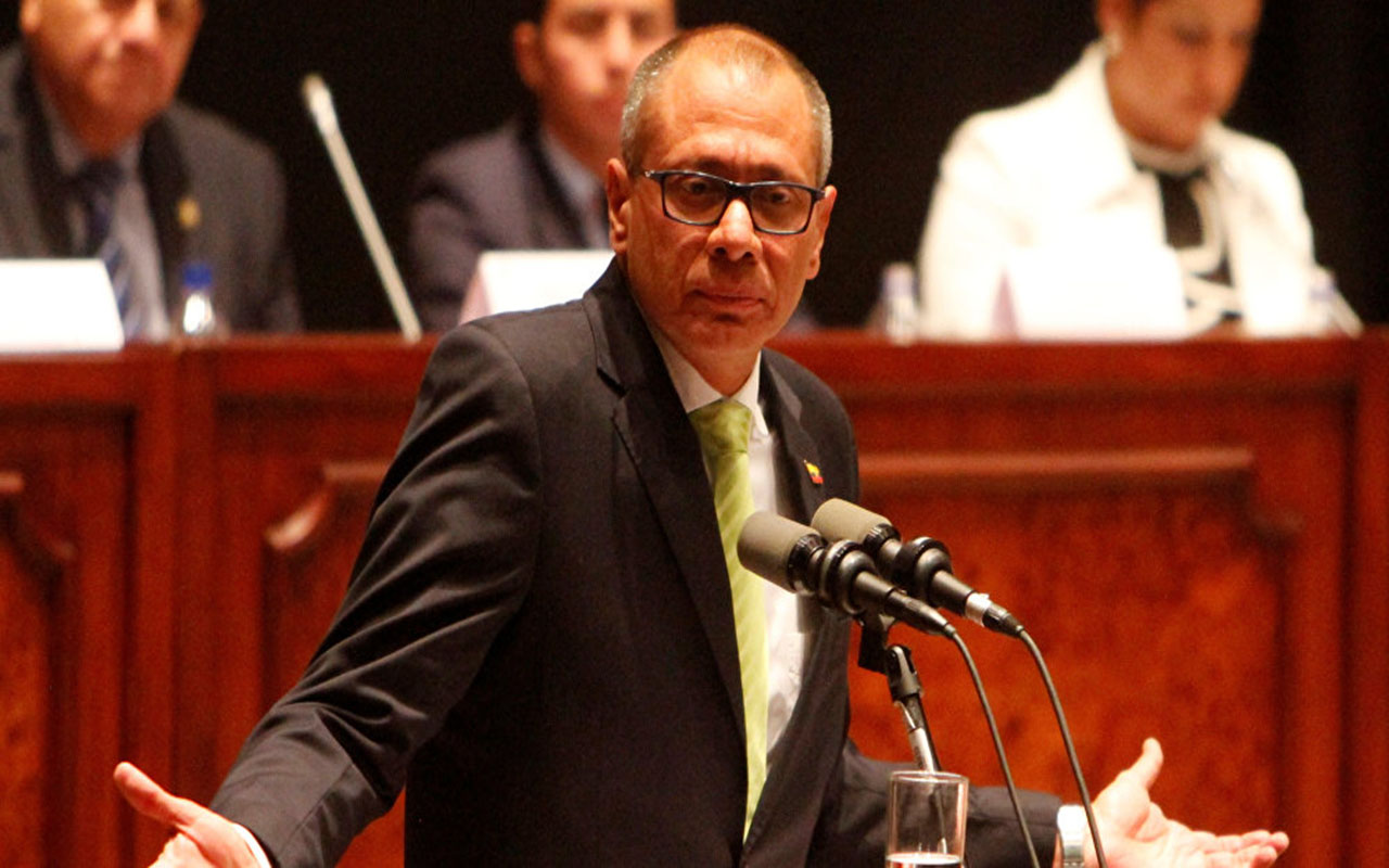 Inicia juicio contra vicepresidente de Ecuador por caso Odebrecht