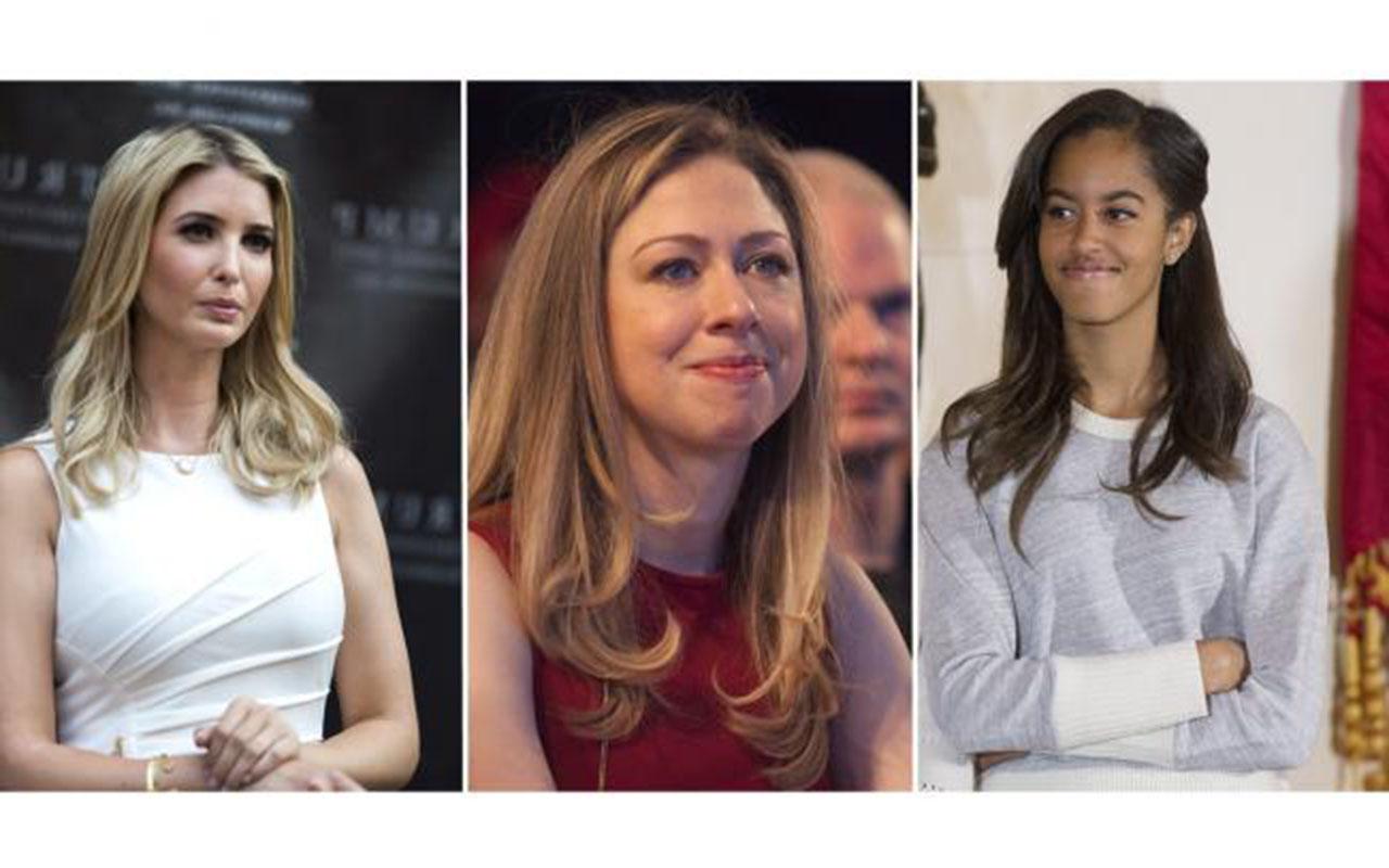Ivanka Trump y Chelsea Clinton defienden a Malia Obama tras ser filmada fumando