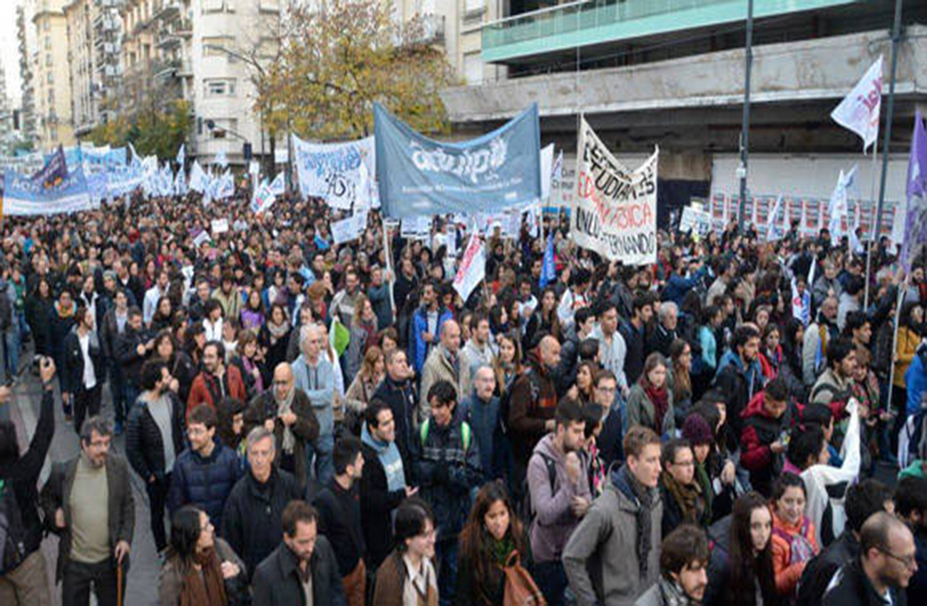 Sindicatos de Brasil protestan contra ajustes y privatizaciones