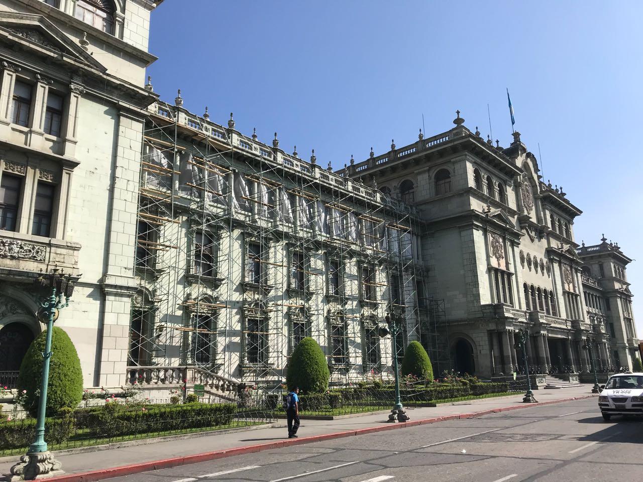 ¿Cuánto costará el remozamiento de la fachada principal del Palacio Nacional de la Cultura?