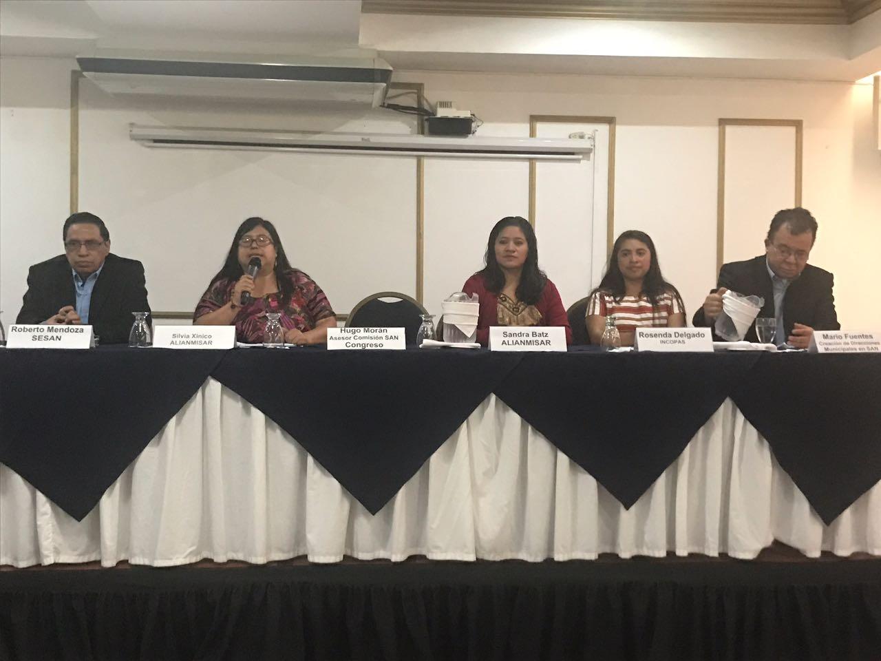Organizaciones piden actualización de ley sobre nutrición