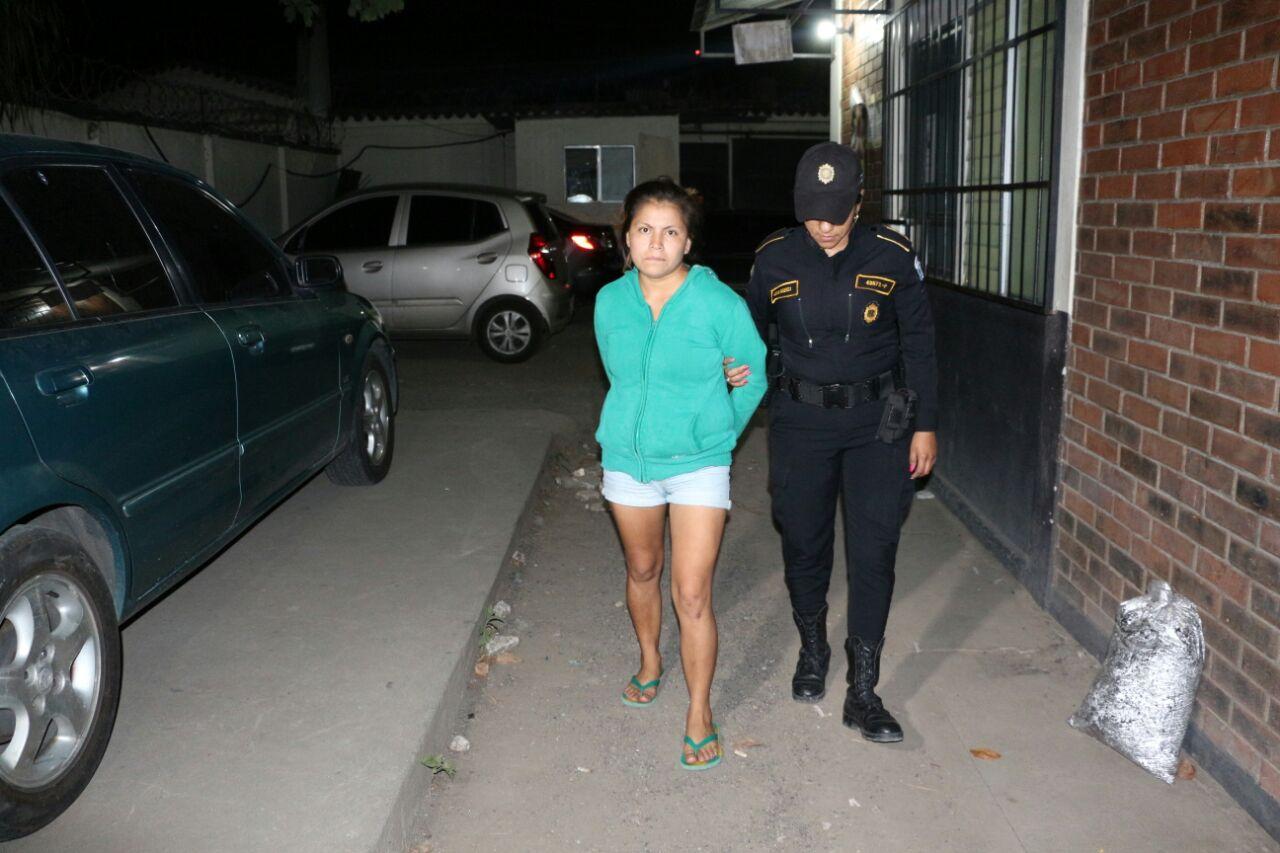 Presunta pandillera capturada