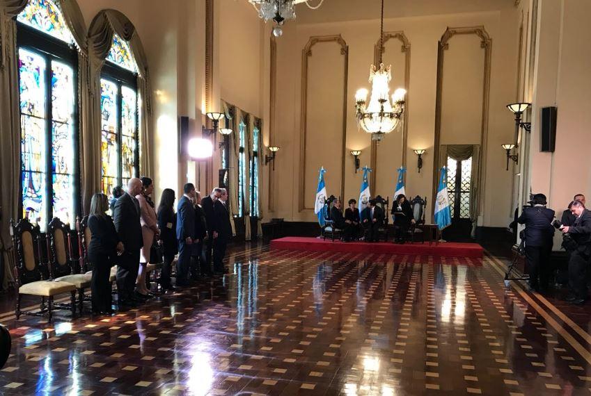 Presentan cartas credenciales de seis embajadores Emisoras Unidas Guatemala EU