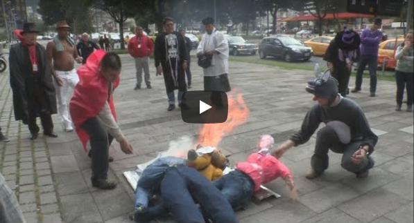 Ecuatorianos quemarán años viejos
