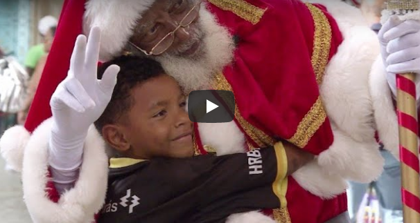 Papa Noel negro de Brasil