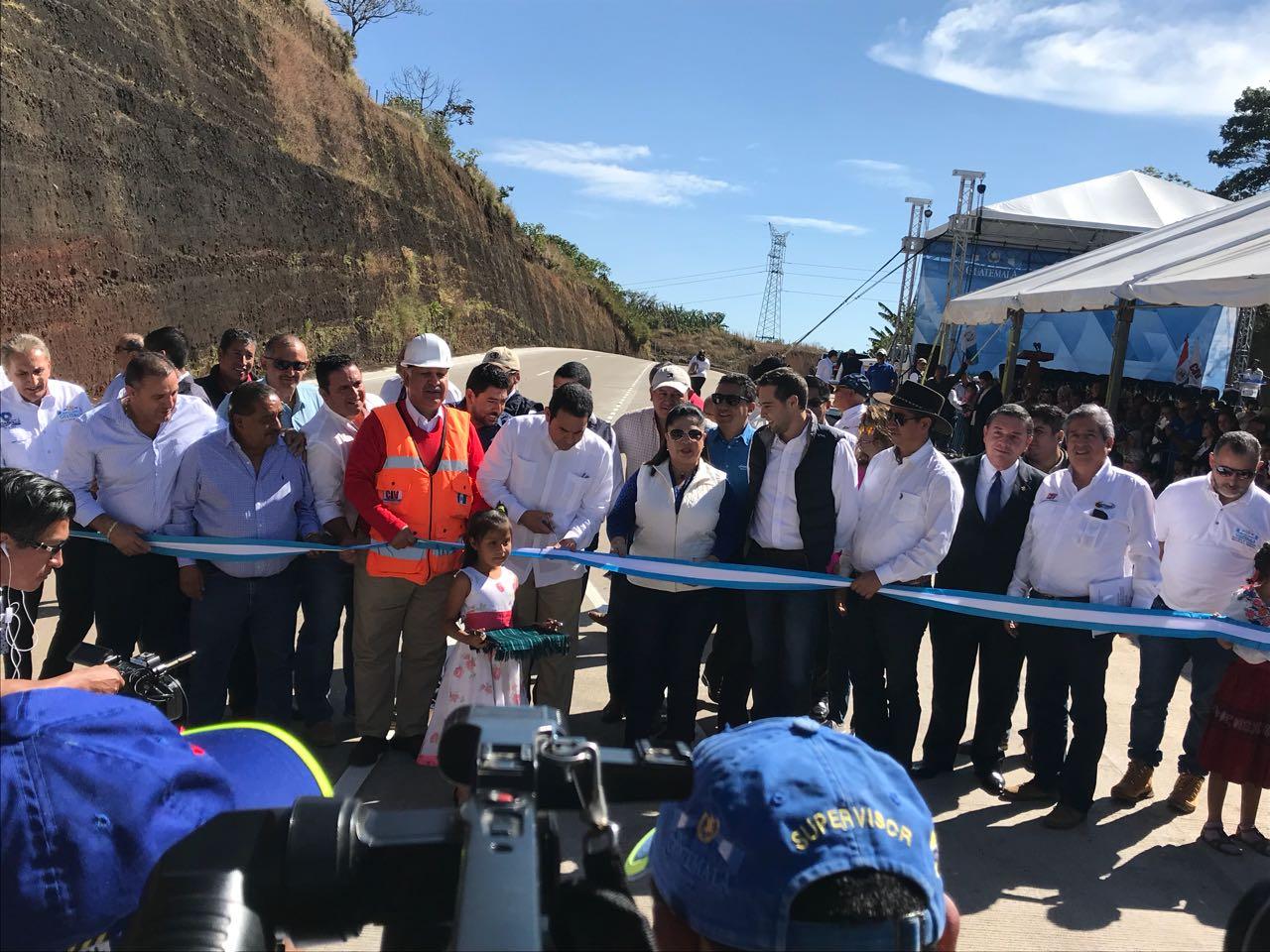 Libramiento de tramo carretero en Santa Rosa Guatemala EU Emisoras Unidas