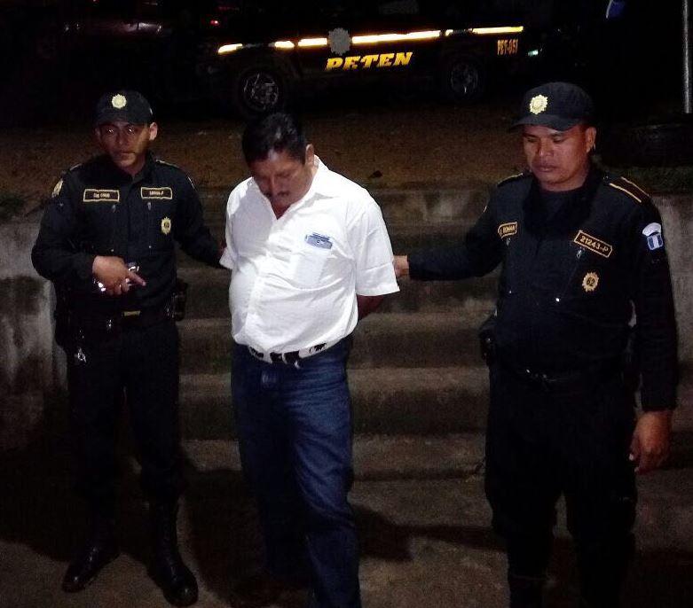 Concejal capturado en Sayaxché Emisoras Unidas EU Guatemala