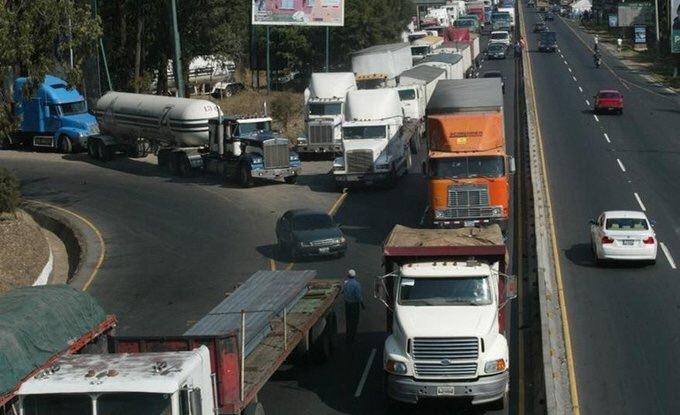 Circulación del transporte pesado