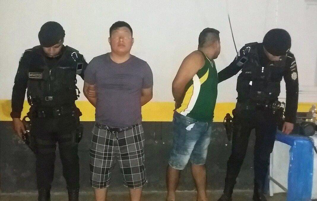 Hombres capturados en Santa Rosa Emisoras Unidas EU Guatemala