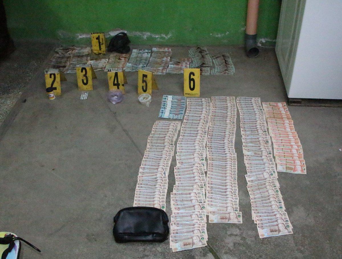 Operativo contra el narcotráfico.