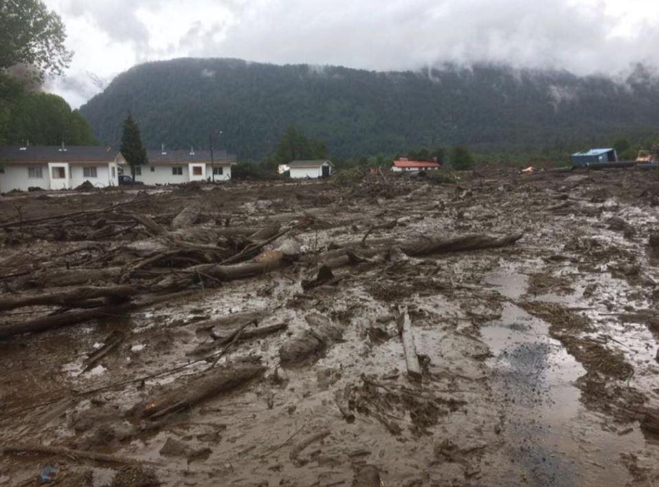 Deslizamiento de tierra en Chile EU Emisoras Unidas Guatemala