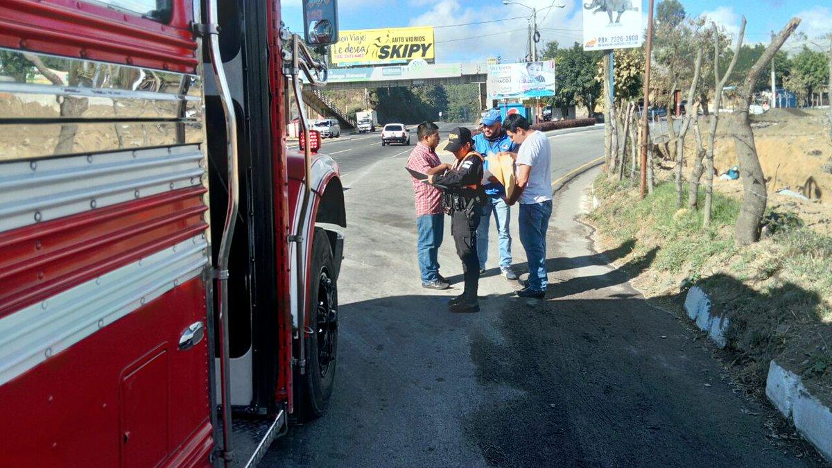 Sanciones a pilotos de buses extraurbanos EU Guatemala Emisoras Unidas