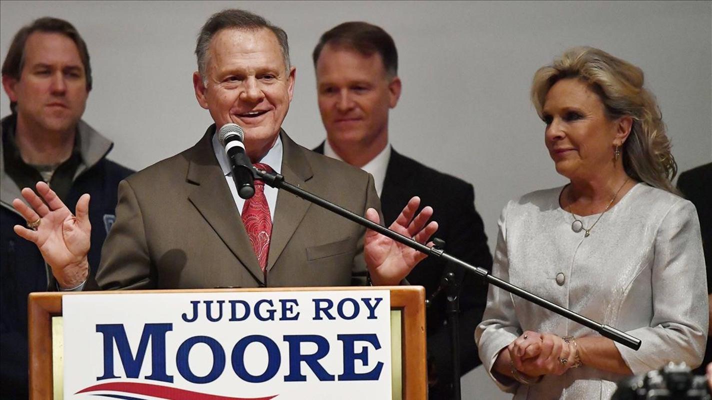 EEUU: candidato al Senado Roy Moore apela ante su derrota en Alabama