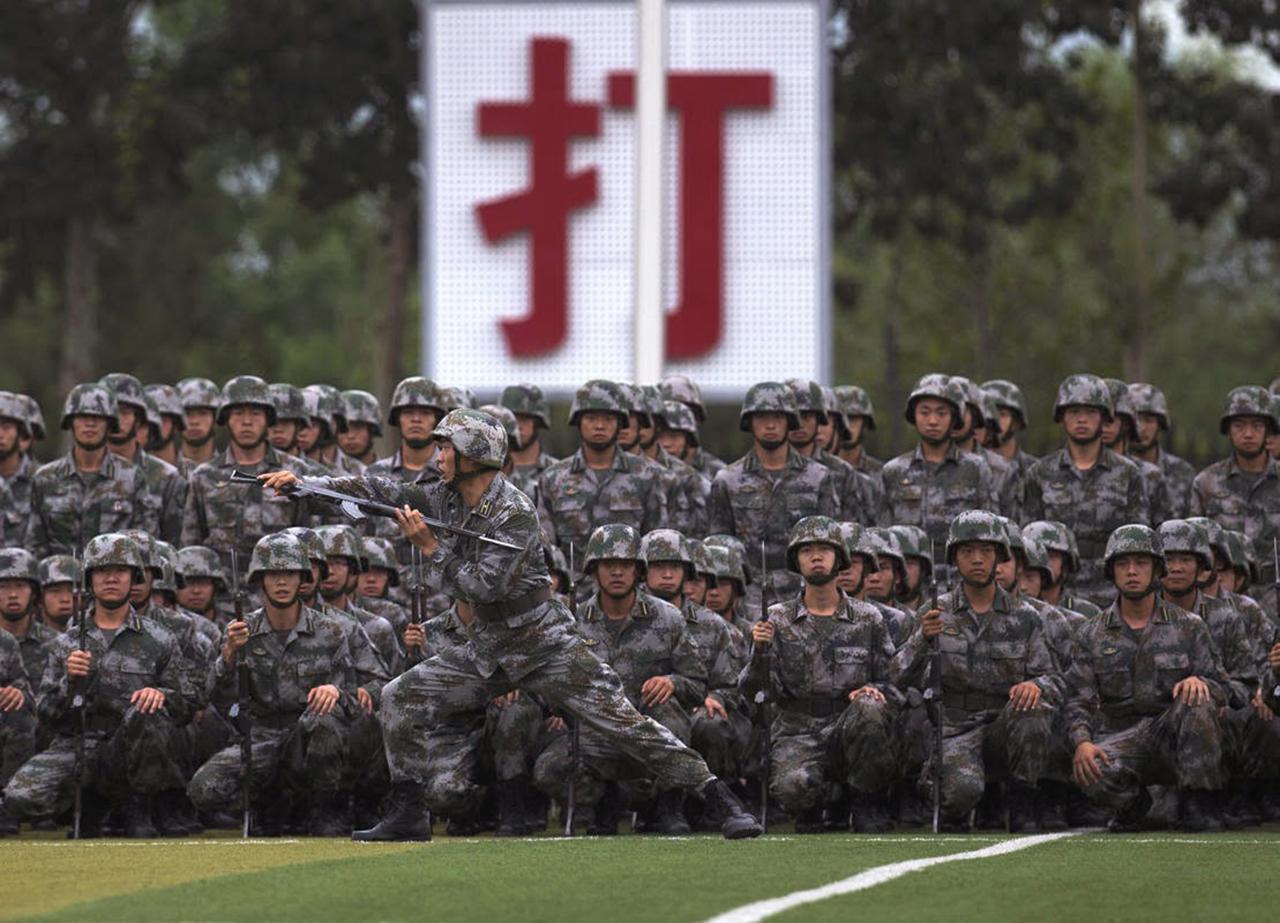 El Partido Comunista Chino toma el control de la policía paramilitar
