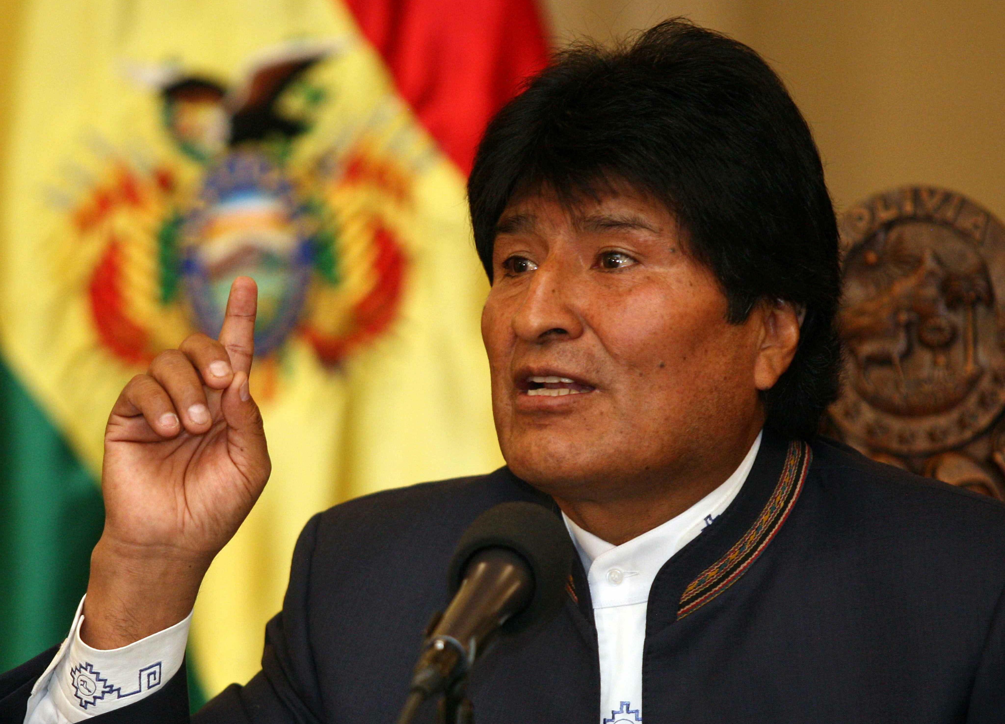 Evo Morales Emisoras Unidas EU Guatemala
