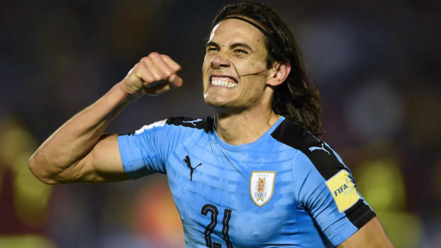 """""""La expectativas son muy buenas"""" para el Mundial, dice el uruguayo Cavani"""