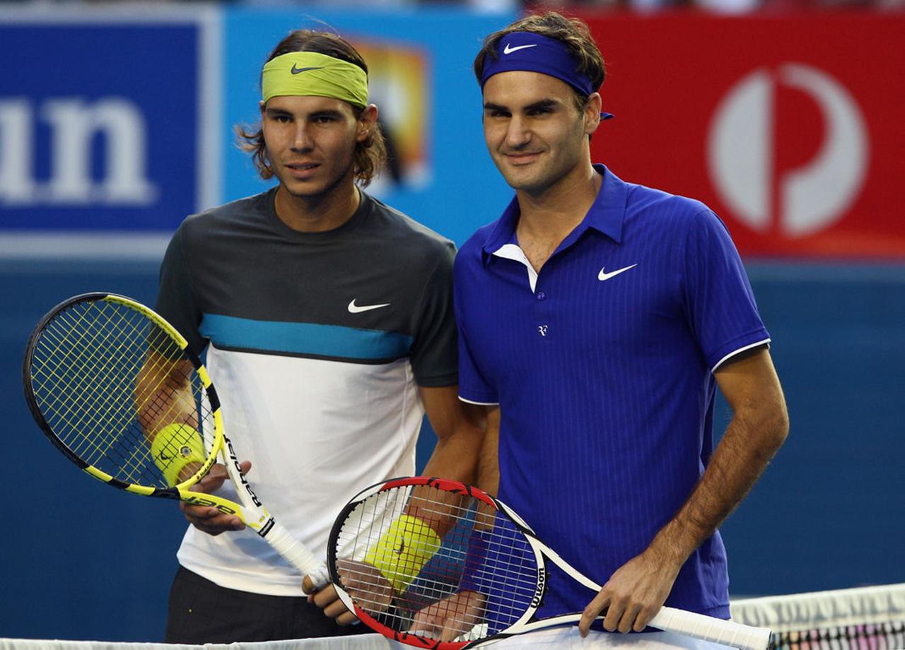Nadal y Federer convirtieron 2017 en una fiesta del tenis