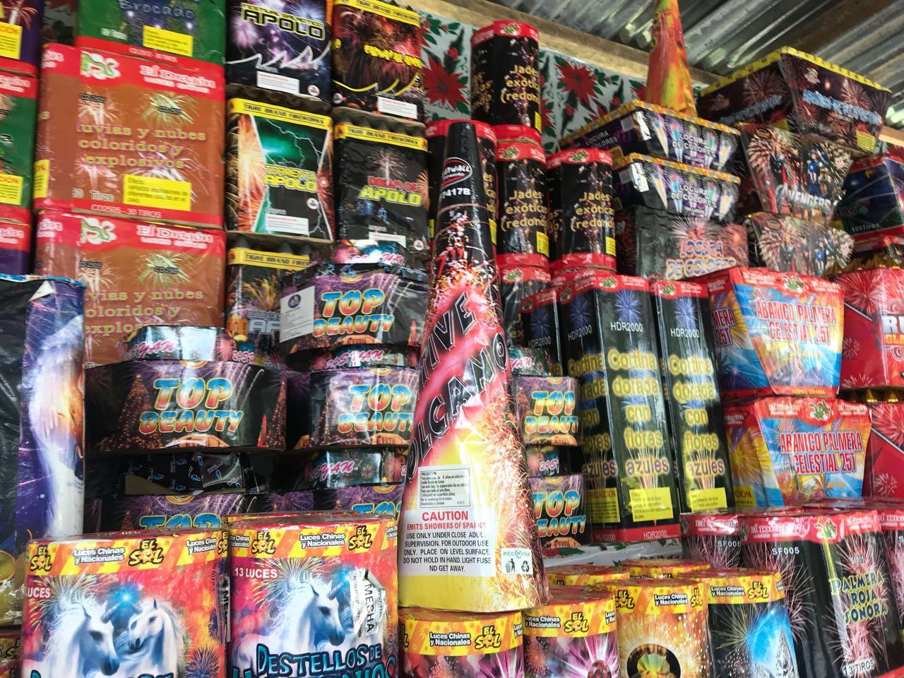 Ventas de juegos pirotécnicos Emisoras Unidas EU Guatemala