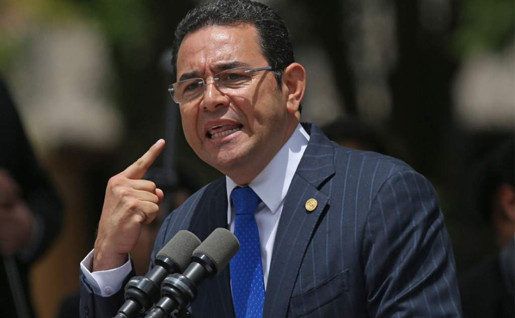 Jimmy Morales Emisoras Unidas EU Guatemala