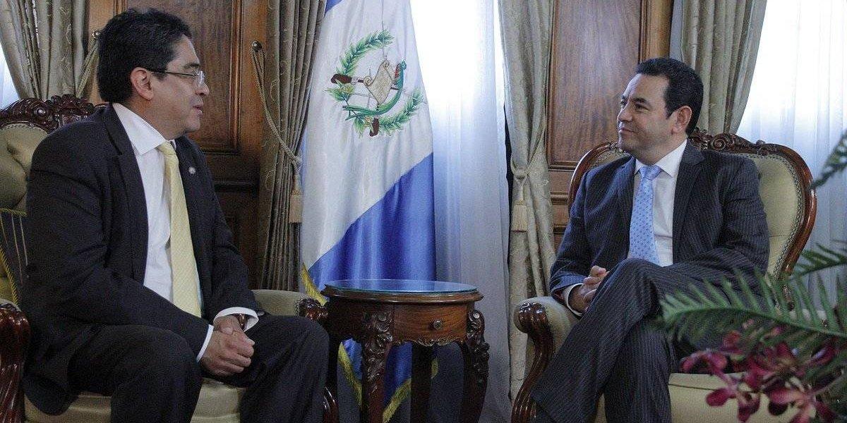 PDH y Presidente Emisoras Unidas EU Guatemala