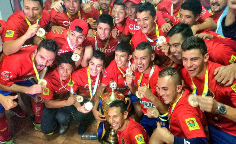 Municipal campeón Emisoras Unidas EU Guatemala
