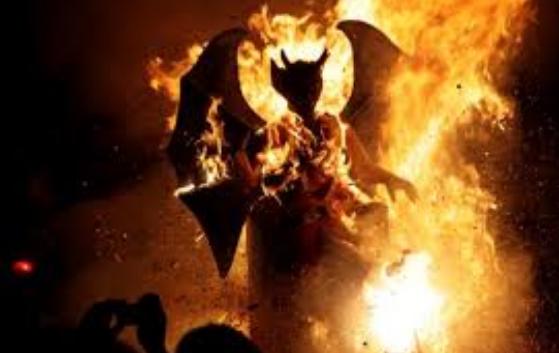 Quetzaltenango quema del diablo monitoreo