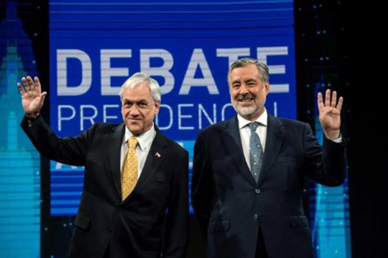 Áspero debate entre Piñera y Guillier a cinco días de balotaje en Chile
