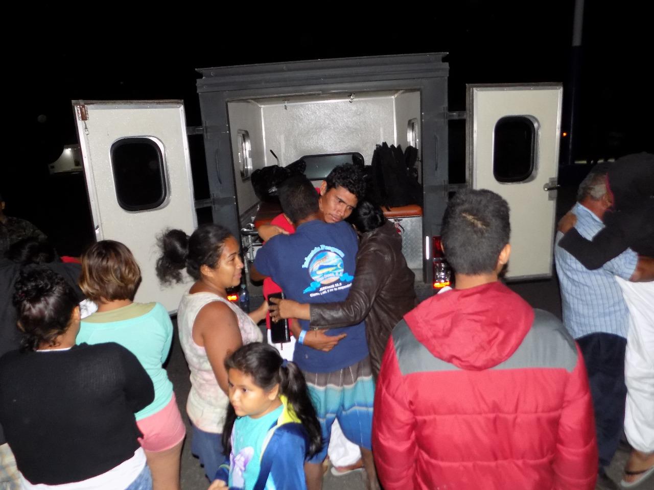 Náufragos rescatodos EU Emisoras Unidas Guatemala