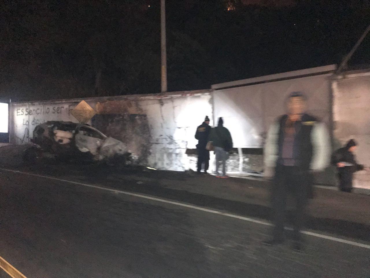 Piloto de vehículo muere en accidente de tránsito