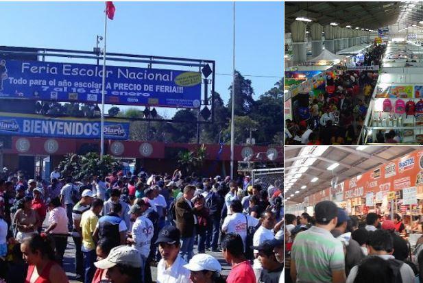Feria escolar EU Emisoras Unidas Guatemala
