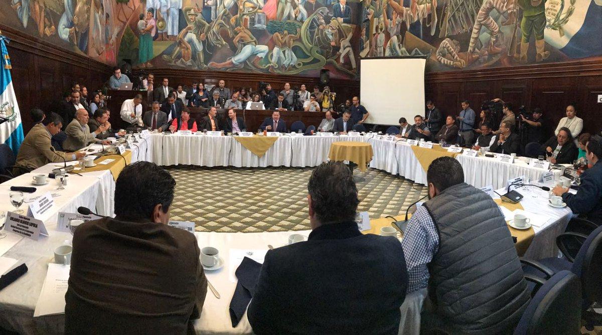 Jefes de bloque EU Emisoras Unidas Guatemala