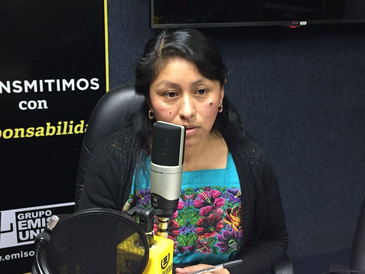 Verónica Buch Emisoras Unidas EU Guatemala
