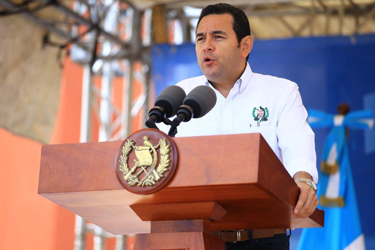 Jimmy Morales EU Emisoras Unidas Guatemala