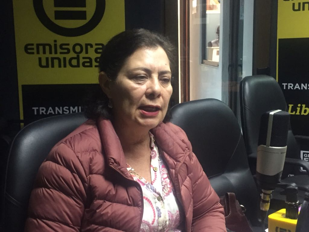 Silvia de Palmieri EU Emisoras Unidas Guatemala.